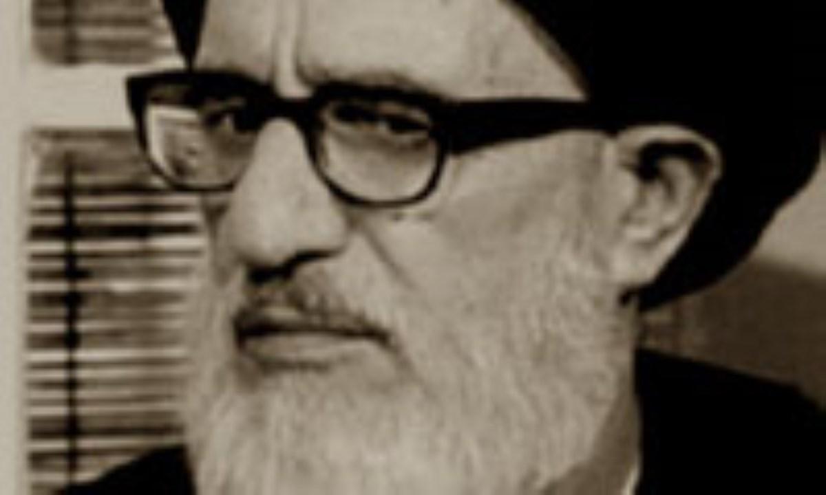 ابوذر زمان-يادمان آيت الله سيد محمود طالقانی
