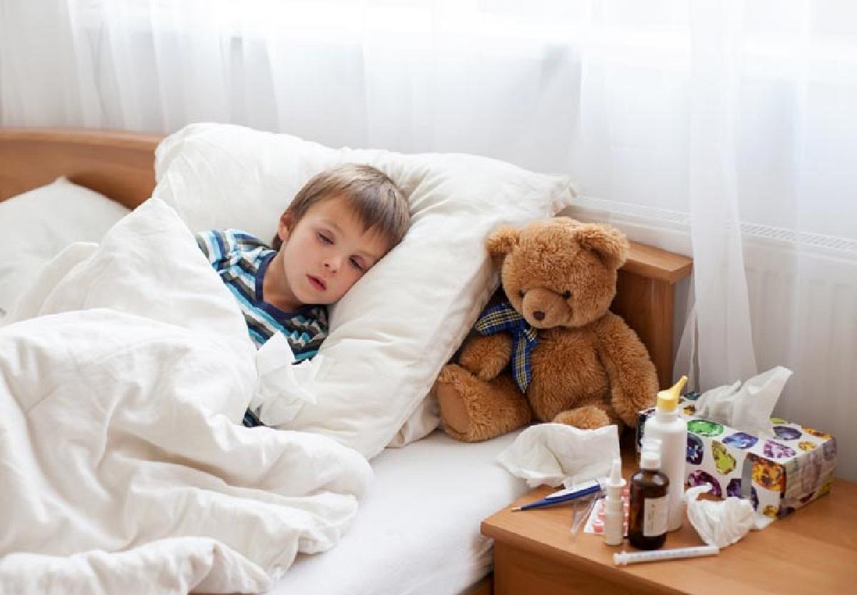 علائم خروسک در کودکان و درمان خانگی