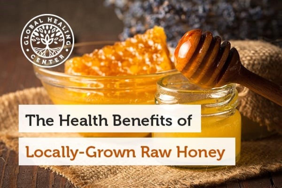 مزیت های عسل خامی که به صورت محلی رشد یافته است