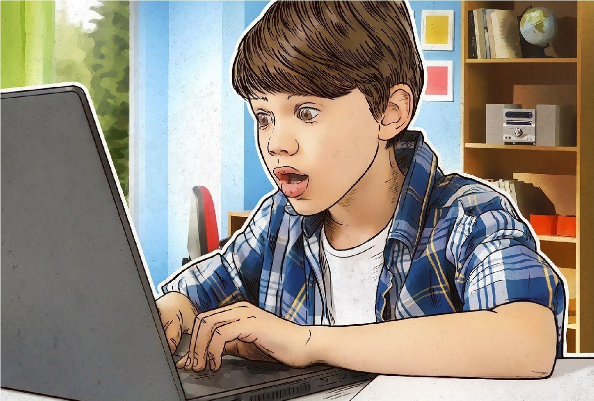 مزایا و معایب استفاده کودکان از اینترنت