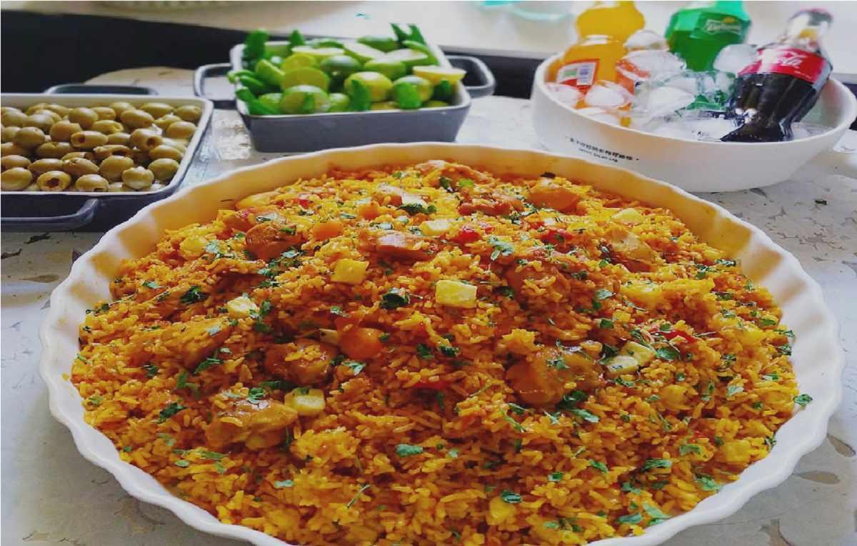 دستور پخت استانبولی پلو با مرغ