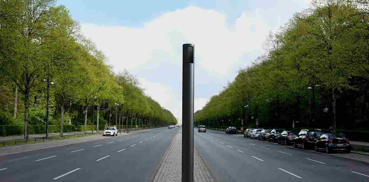 مبلمان خیابانی هوشمند
