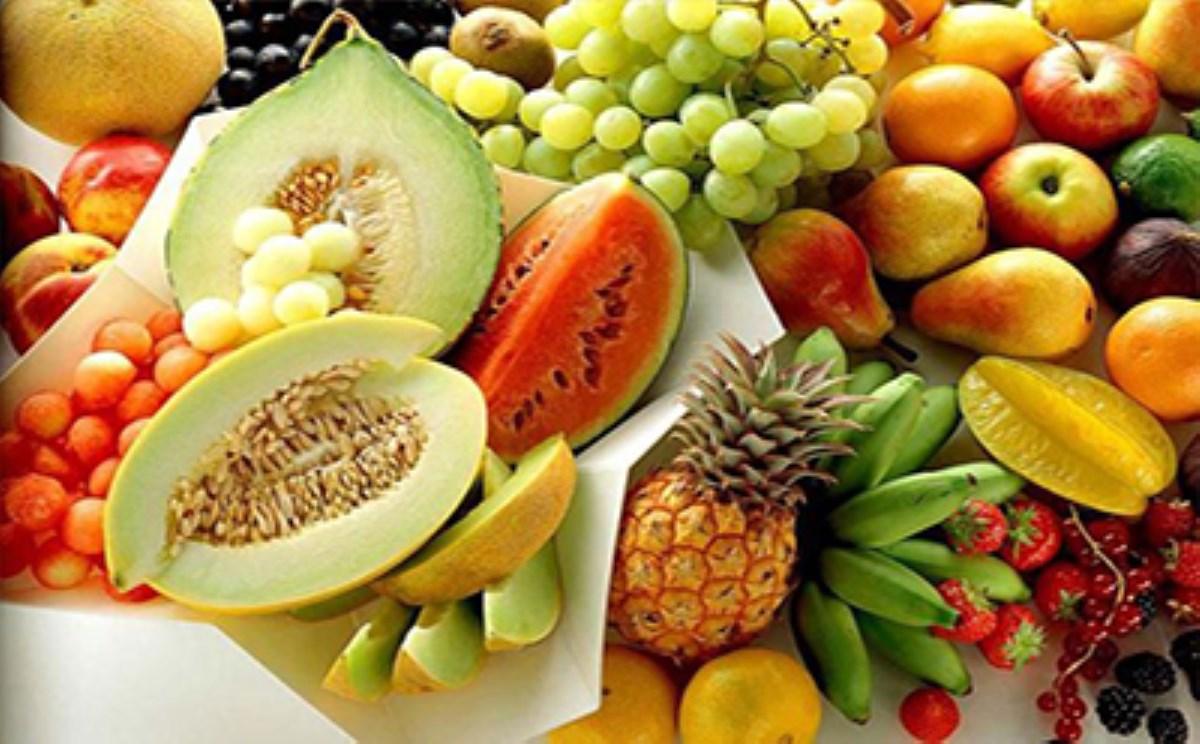 فهرست میوههای با پتاسیم بالا