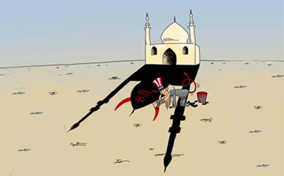 اقدامات هنری رسانهای غرب ضد اسلام