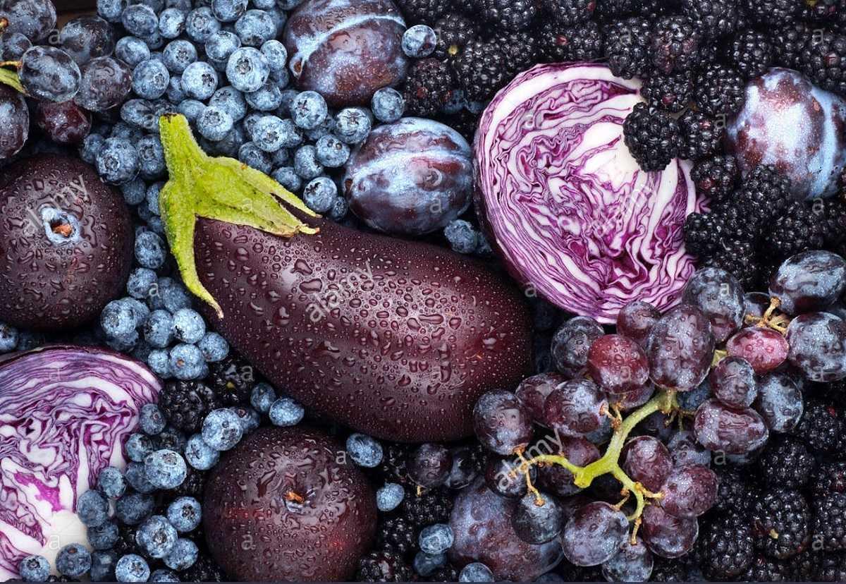 میوه و سبزیجات بنفش چه خواصی دارند؟