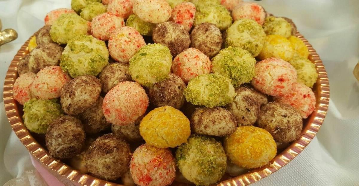 دستور تهیه سه مدل شیرینی عید