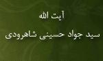 """رحلت فقيه جليل آيت اللَّه """"سيد جواد حسيني شاهرودی"""" (1377 ش)"""