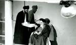 """تنفیذ حکم دومین دوره ریاست جمهوری آیت اللَّه """"خامنه ای"""" از سوی """"امام خمینی"""" (1364 ش)"""