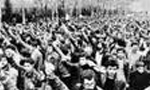 تظاهرات و درگيری مردم انقلابي با مأموران رژيم پهلوی در شهرهاي مختلف كشور (1357 ش)