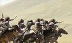 """آغاز نبرد """"سند"""" در كنار رود سند بين سپاهيان خوارزمشاه و مغولان(618 ق)"""