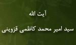"""رحلت دانشمند بزرگ مسلمان آيت اللَّه """"سيد امير محمدكاظمي قزويني"""" (1373 ش)"""