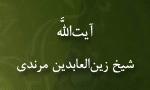 """رحلت عالم رباني آيت اللَّه """"زين العابدين مرندي"""" (1301ش)"""