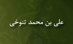 درگذشت علي بن محمد تنوخي اديب و شاعر(342 ق)