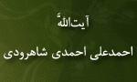 """رحلت فقيه بزرگوار آيت اللَّه """"احمدعلي احمدي شاهرودي"""" (1375ش)"""