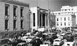 عمارت تازه بانك ملي ايران در خيابان فردوسي افتتاح شد. (1315ش)