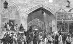 حریق بزرگی در بازار تهران رخ داد و مجموعاً 20 مغازه سوخت(1354ش)