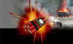 در تظاهرات تهران ناگهان بمبی در قلب جمعیت منفجر شد. یکنفر مقتول و چند نفر مجروح شدند(1350س)