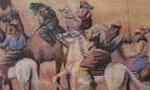 """نبرد """"يرموك"""" بين مجاهدان مسلمان و سپاه روم(13 ق)"""