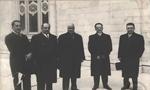 افتتاح آخرين دوره مجلس سنا و شوراي ملي (1357ش)