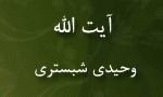 """رحلت فقيه جليل و عالم بزرگوار، آيت اللَّه """"سيدمحمد وحيدي شبستري"""" (1379 ش)"""