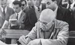 محاکمه دکتر محمد مصدق و سرتيپ رياحي پس از 35 جلسه رسيدگي در دادگاه نظامي پايان يافت. (1332 ش)