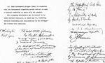 نمايندگان مختار 26 كشور جهان پيمان اتحادي عليه دولت هاي محور امضاء كردند.(1321 ش)