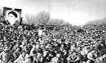 روزنامه کیهان نوشت، طول جمعیت استقبال کننده از امام خمینی  32 کیلومتر بود(1357ش)