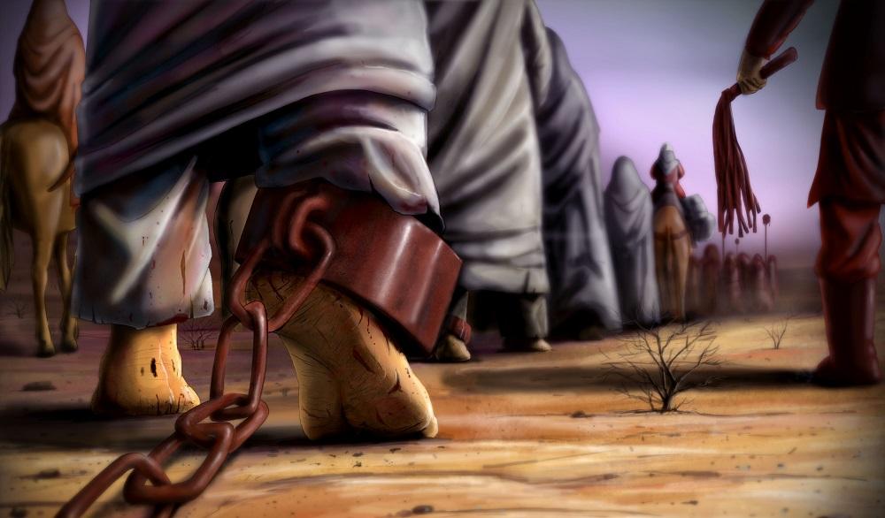اسارت بازماندگان شهدای کربلا