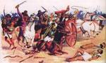 تمدید آتش بس میان امپراطوری ایران و روم از طرف کنستانتین، امپراطور روم