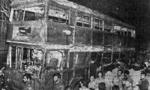 شهادت ده ها تن از مردم تهران بر اثر انفجار بمب در خيابان خيام توسط منافقين (1361ش)