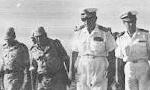 دریاسالار فرج الله رسائی فرمانده نیروی دریایی ایران به درجه دریابدی (ارتشبدی) رسید(1350ش)