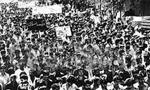 تظاهرات عظيم مردمي ضد رژيم پهلوي به دعوت روحانيت در سراسر كشور (1357 ش)