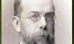 """درگذشت """"رابِرْتْ كُخْ"""" باكتري شناس معروف آلماني و كاشف عامل بيماري سِل (1910م)"""