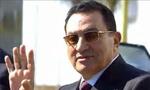 حسنی مبارک معاون رئیس جمهوری مصر همراه با اسماعیل فهمی معاون نخست وزیر و وزیرخارجه مصر به ایران آمد(1355ش)