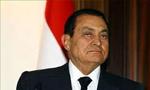 حسنی مبارک معاون رئیس جمهوری مصر وارد تهران گردید(1355ش)