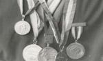 مسابقات جهاني کشتي آزاد در ژاپن پايان يافت و در نتيجه تيم ايران با بدست آوردن 5 مدال طلا و يک مدال نقره و يک مدال برنز قهرمان جهان شد.(1340 ش)