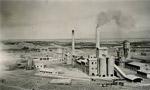 کارخانه سيمان تهران با ظرفيت روزانه سيصد تن افتتاح شد. (1335 ش)