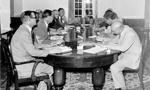 مذاکرات ایران و کنسرسیوم که به مناسبت نوروز تعطیل شده بود مجدداً از سر گرفته شد.(1357ش)