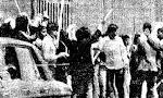 در مشهد چهل هزار نفر در تظاهرات شرکت کردند و در پایان تظاهرات دو کشته و یک زخمی باقی گذاشتند(1357ش)
