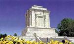 ساختمان مقبره فردوسي با حضور والي خراسان آغاز شد. (1307ش)