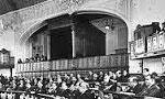 قانون تشكيل دو وزارتخانه تجارت و صناعت به تصويب مجلس رسيد. (1316ش)