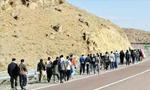 اعضای یک هیئت مذهبی پیاده از تهران به مشهد حرکت کردند(1350ش)