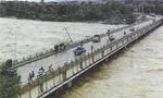 یک اتوبوس در رودخانه گل میناب افتاد و 32 نفر از مسافرین را آب برد(1350ش)
