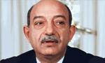 محمود ریاض معاون نخست وزیر و وزیر امور خارجه جمهوری عربی متحده وارد تهران شد(1350ش)