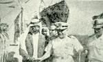 شیخ صفر برادر شیخ شارجه که در جزیره ابوموسی از نیروی ایران استقبال نموده بود به ضرب 2 گلوله از پای درآمد(1350ش)