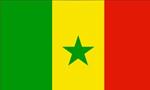 رئیس جمهوری سنگال و همسرش برای یک دیدار رسمی وارد ایران شدند(1355ش)
