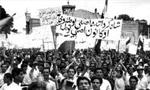 در ساعت 21، تظاهراتی در آبادان از سوی گروه های 400 الی 500 نفری در تعدادی از خیابان ها، برپا شد. در این تظاهرات شیشه های چندین شعب بانک و مغازه شکسته شد.(1357ش)