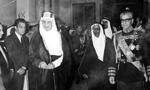 محمد رضا پهلوی در بغداد با ملک فيصل ملاقات و گفتگو کرد.(1332 ش)