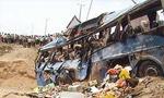دو اتوبوس در جاده بهشهر با یکدیگر تصادف کردند (1351ش)