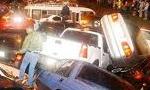 در یک ماهه آذر در تهران 65 نفر در اثر تصادف رانندگی جان باختند(1349ش)